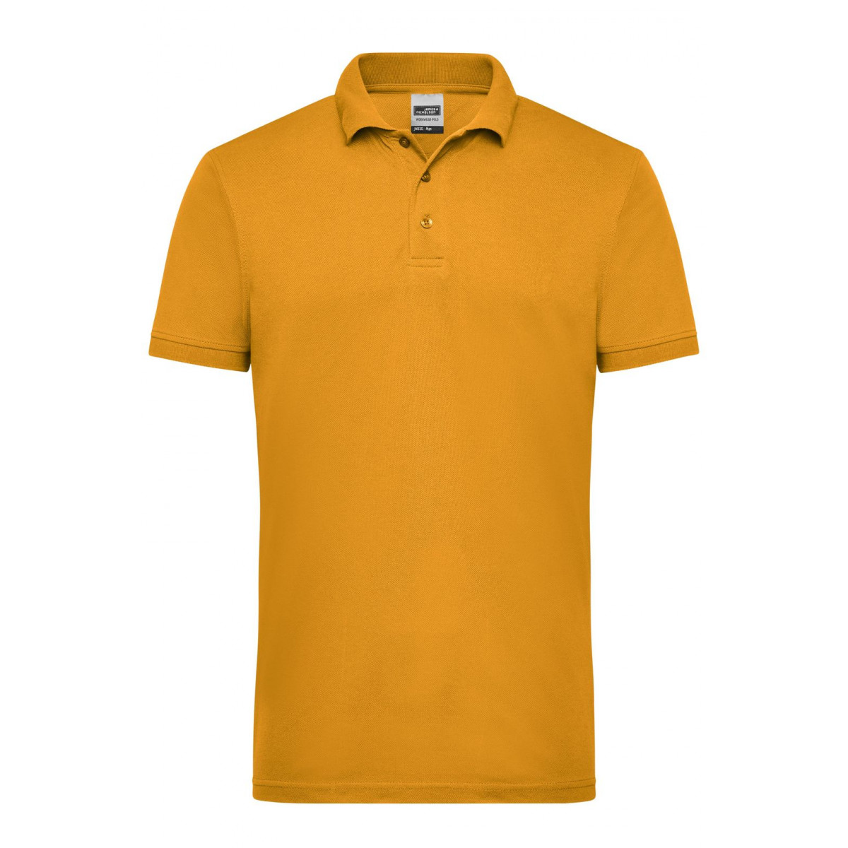 Рубашка поло мужская JN830 Mens Workwear Polo - Золоистый желтый