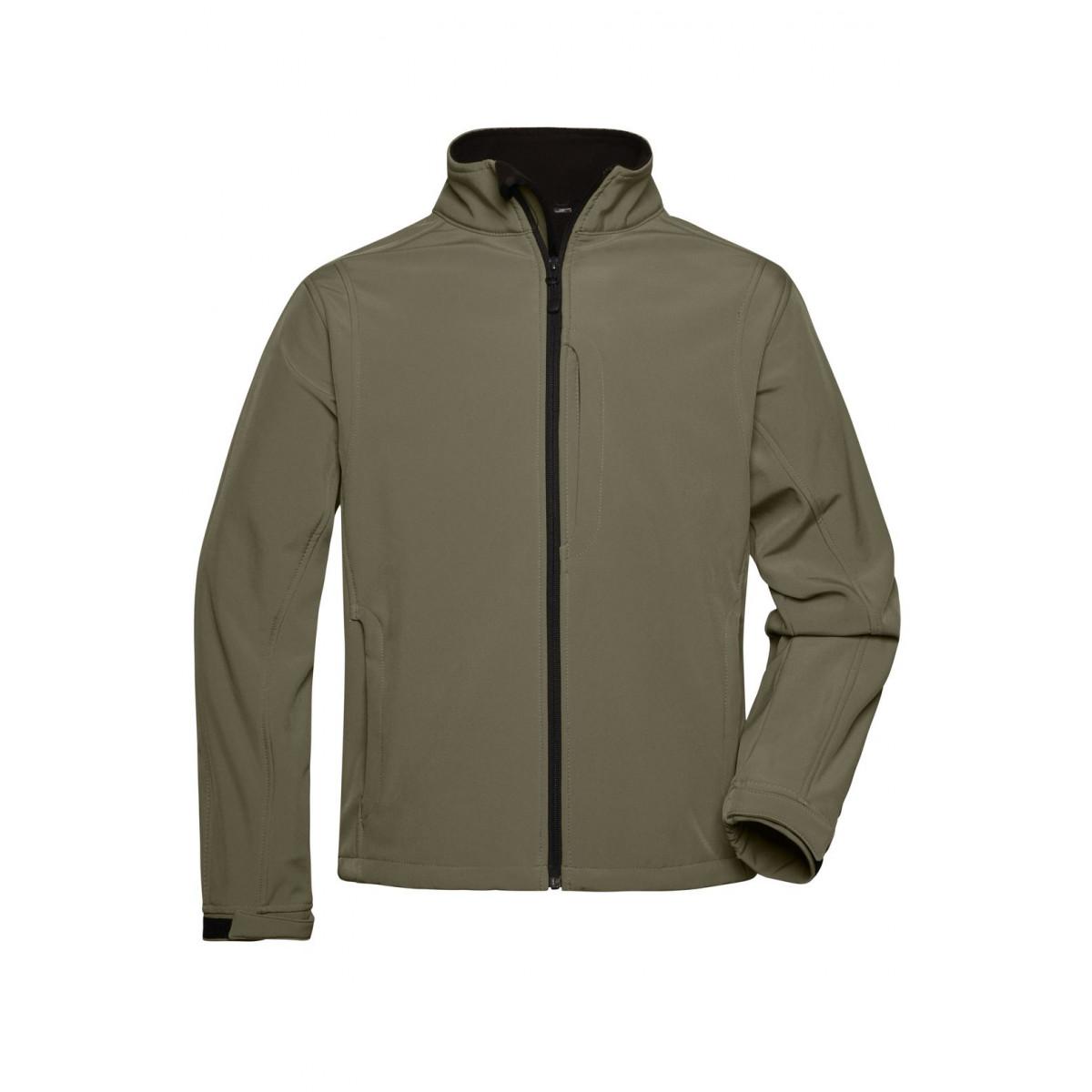 Куртка мужская JN135 Mens Softshell Jacket - Оливковый