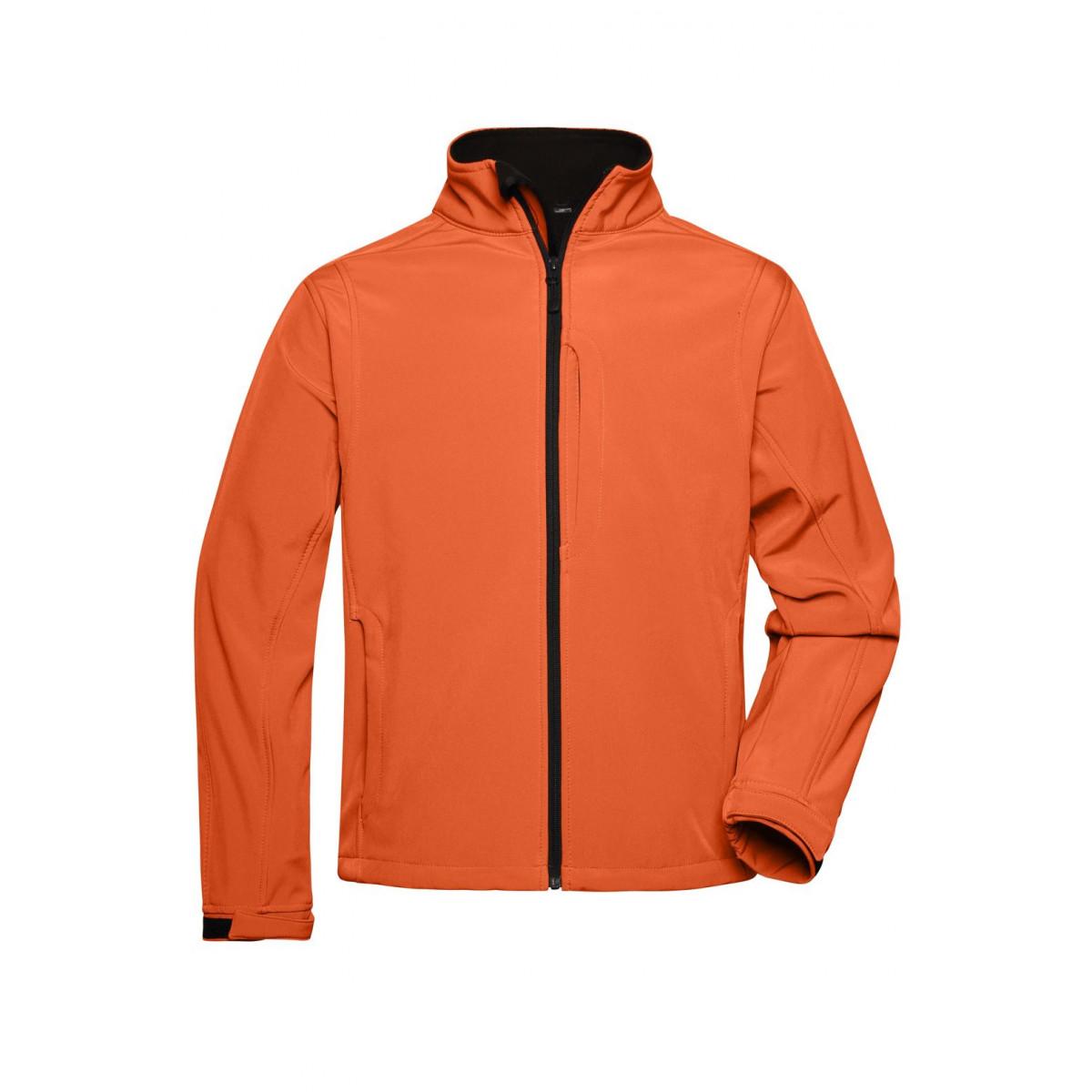 Куртка мужская JN135 Mens Softshell Jacket - Оранжевый