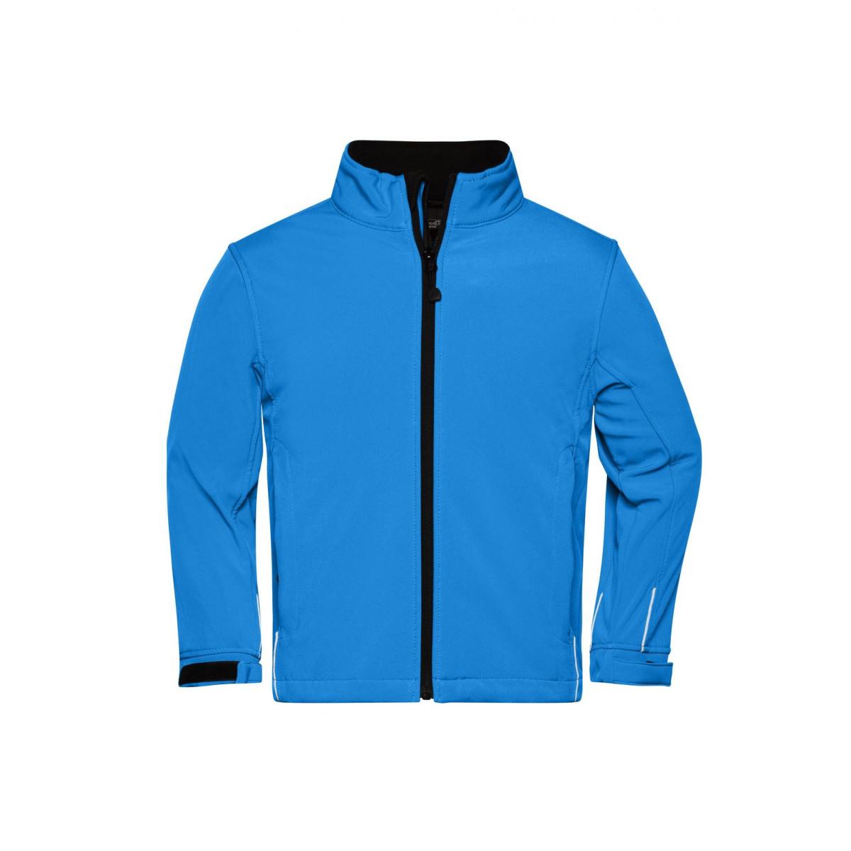 Куртка детская JN135K Softshell Jacket Junior - Аква