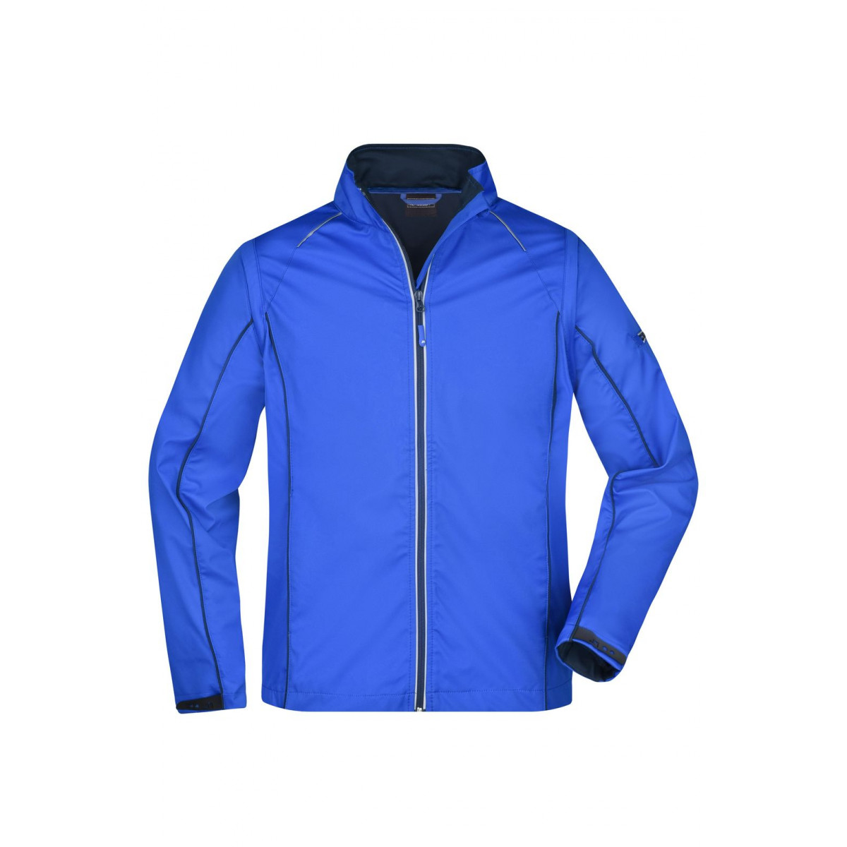 Куртка мужская JN1122 Mens Zip-Off Softshell Jacket - Темно-синий/Темно-синий