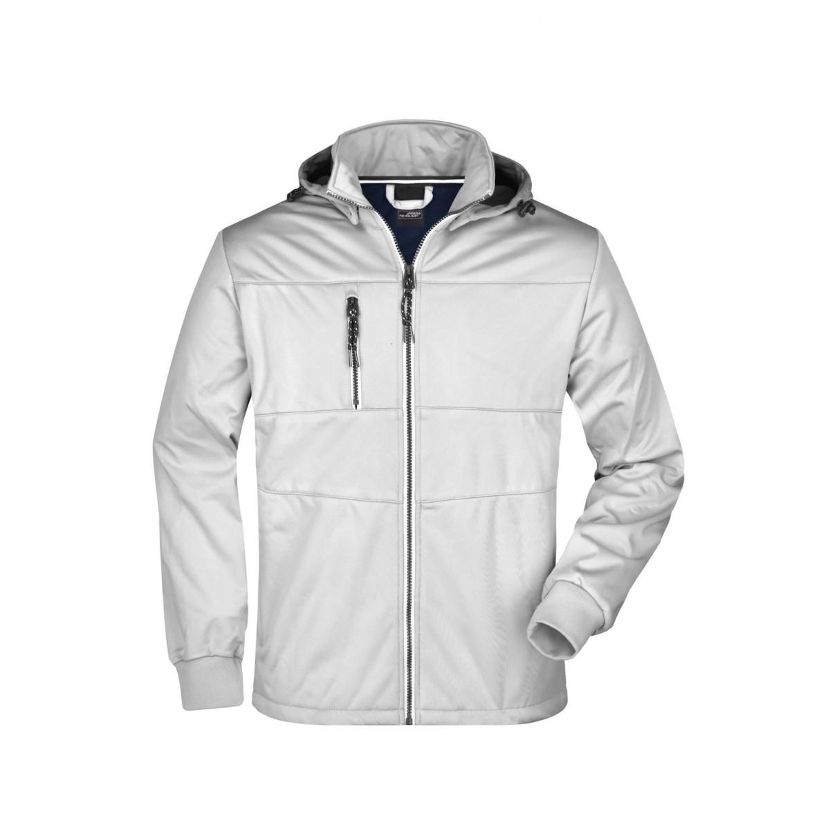Куртка мужская JN1078 Mens Maritime Jacket - Белый/Белый/Темно-синий