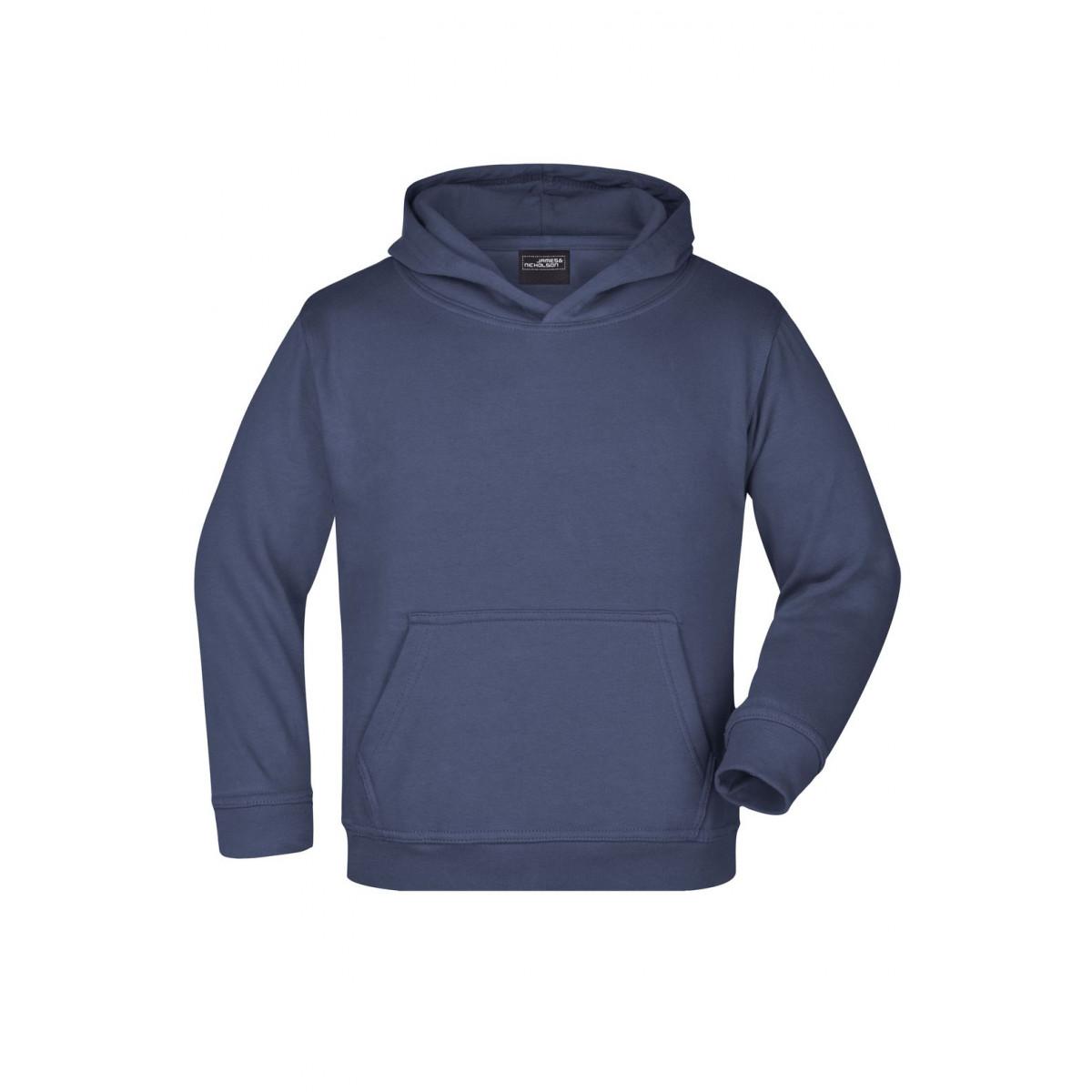 Толстовка детская JN047K Hooded Sweat Junior - Темно-синий