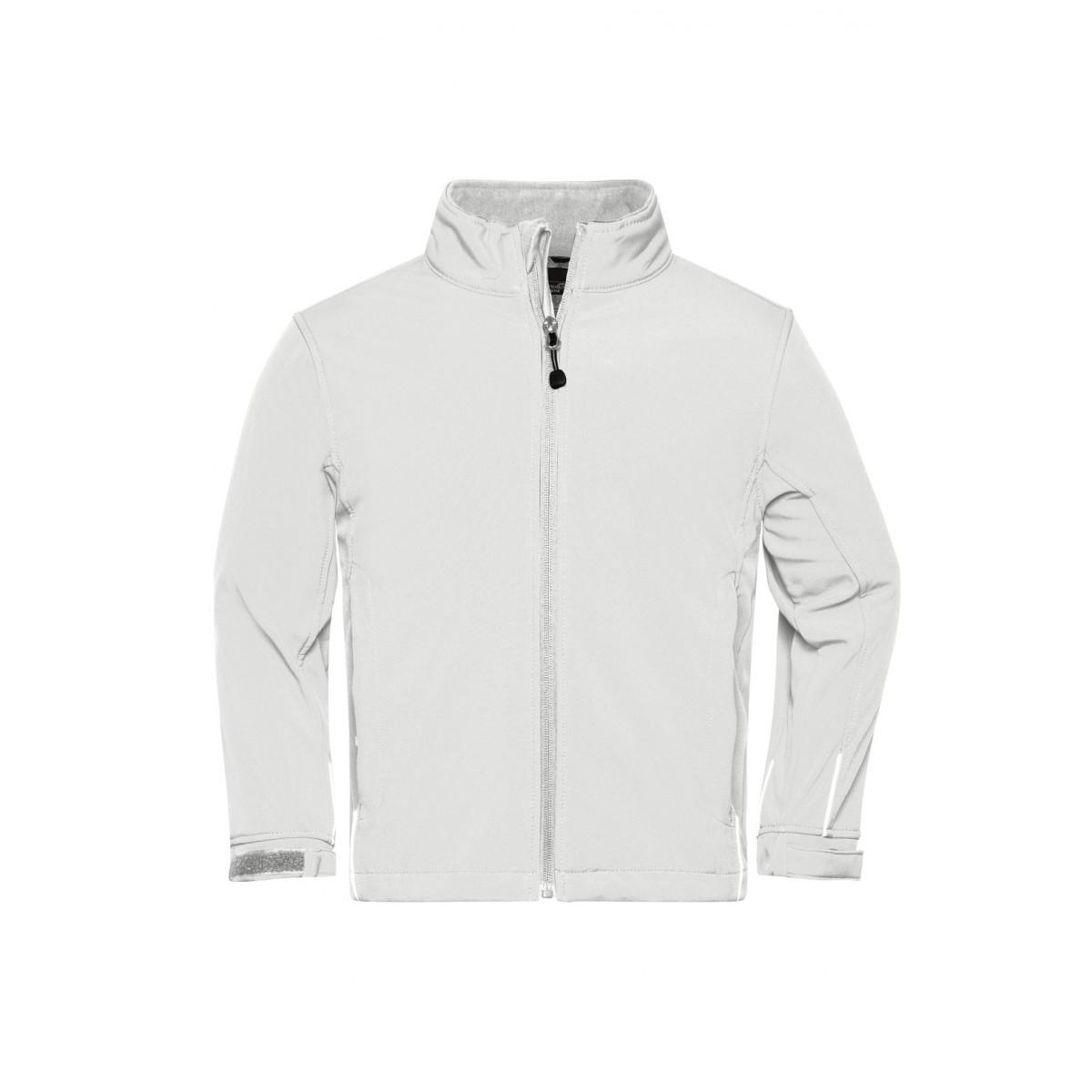 Куртка детская JN135K Softshell Jacket Junior - Белый