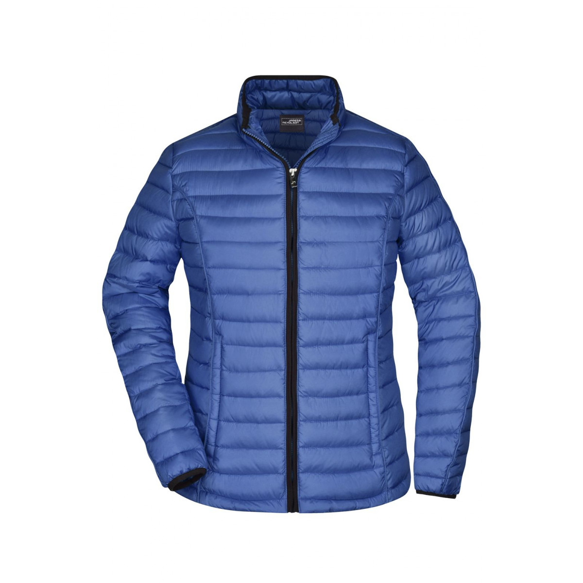 Куртка женская JN1081 Ladies Quilted Down Jacket - Чернильный/Черный