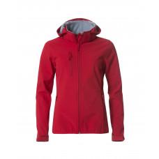 Куртка женская 020917 Basic Hoody Softshell Ladies - Красный