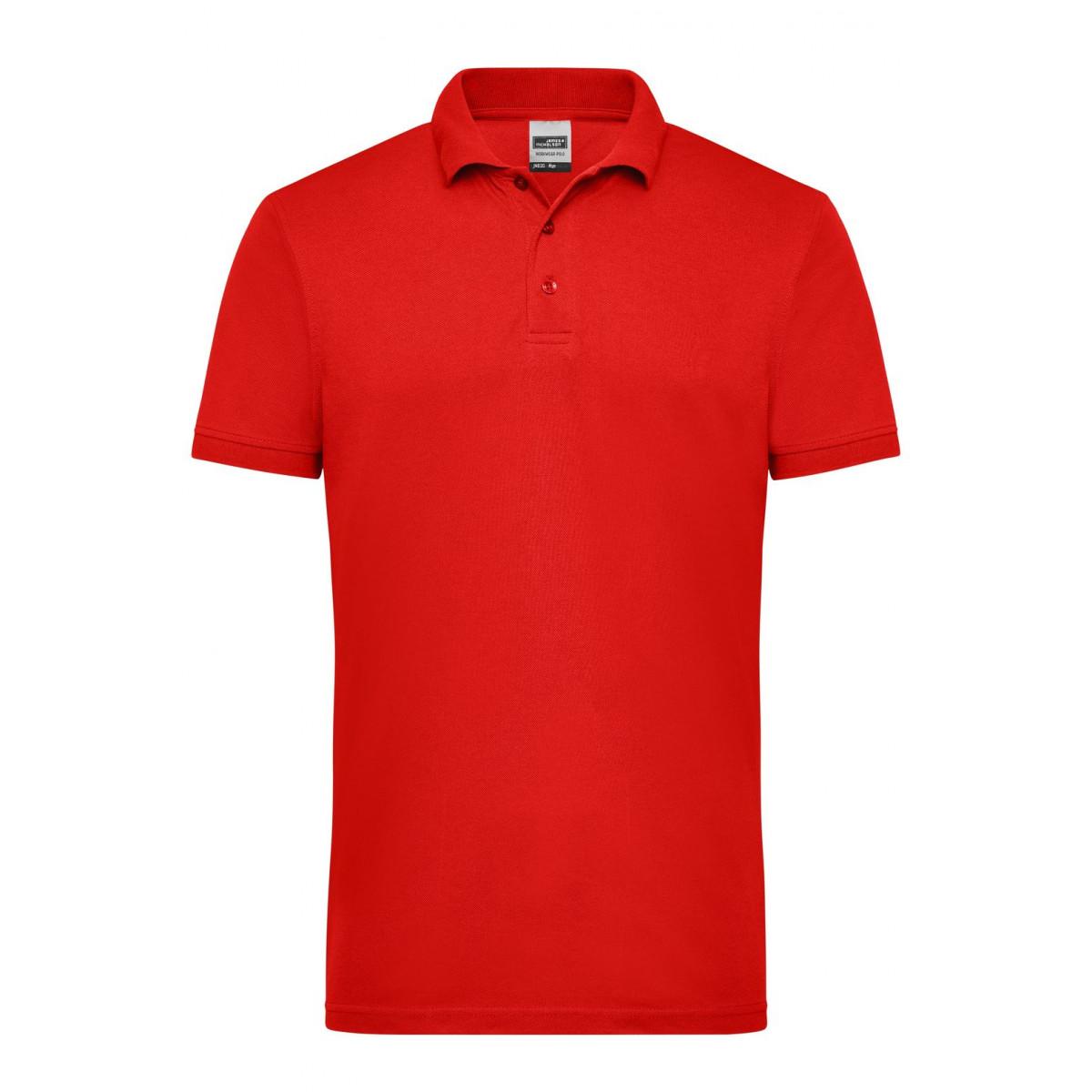 Рубашка поло мужская JN830 Mens Workwear Polo - Красный