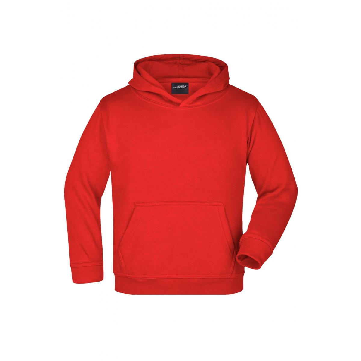 Толстовка детская JN047K Hooded Sweat Junior - Красный