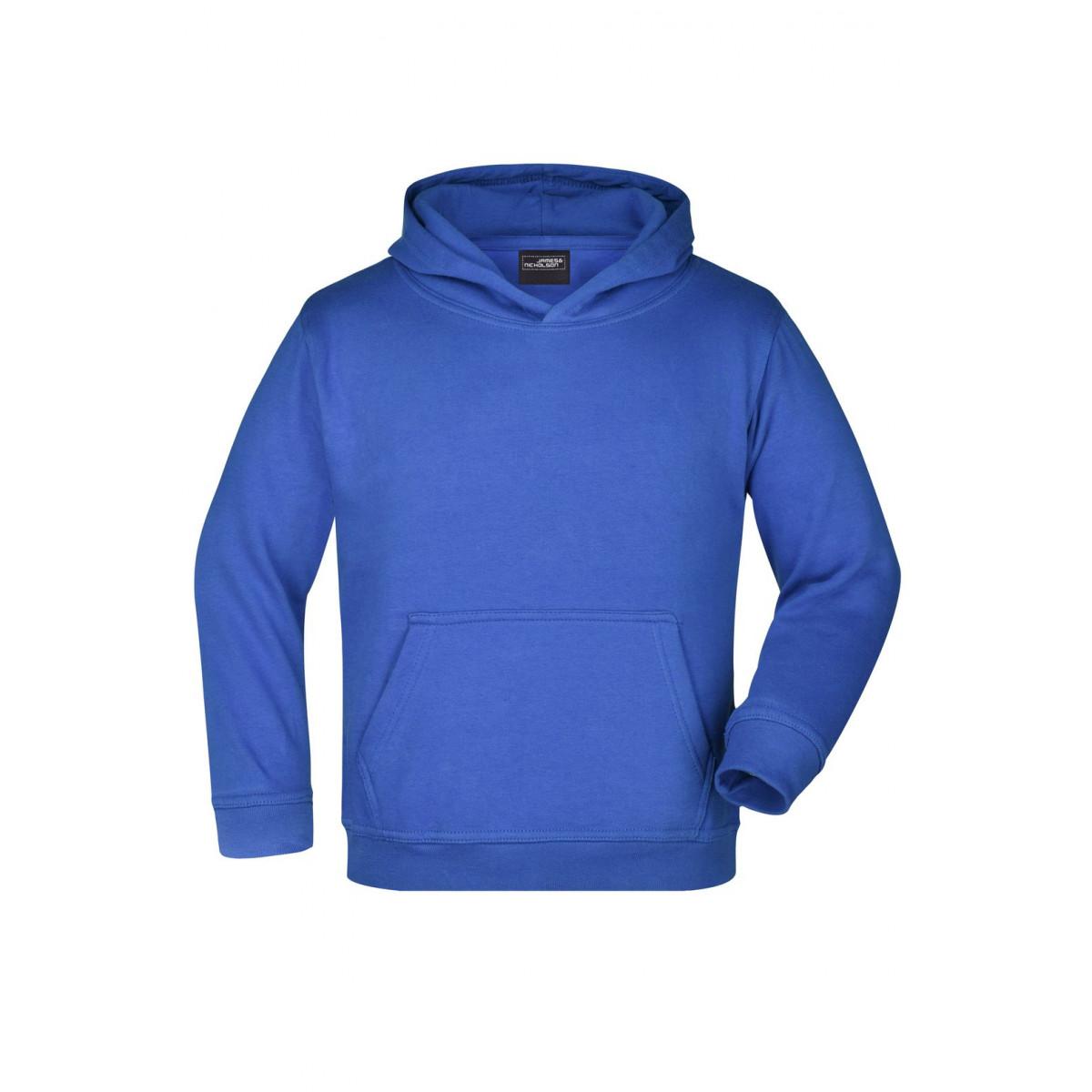 Толстовка детская JN047K Hooded Sweat Junior - Ярко-синий