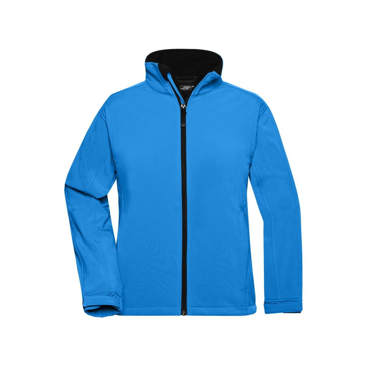 Куртка женская JN137 Ladies Softshell Jacket - Аква