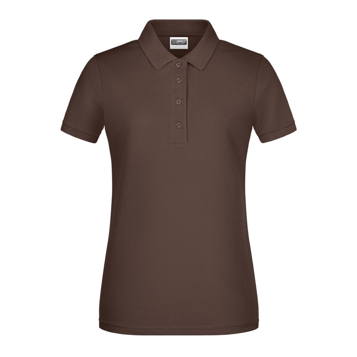 Рубашка поло женская 8009 Ladies Basic Polo - Коричневый