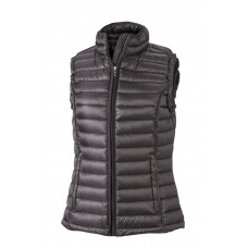 Жилет женский JN1079 Ladies' Quilted Down Vest - Черный/Черный