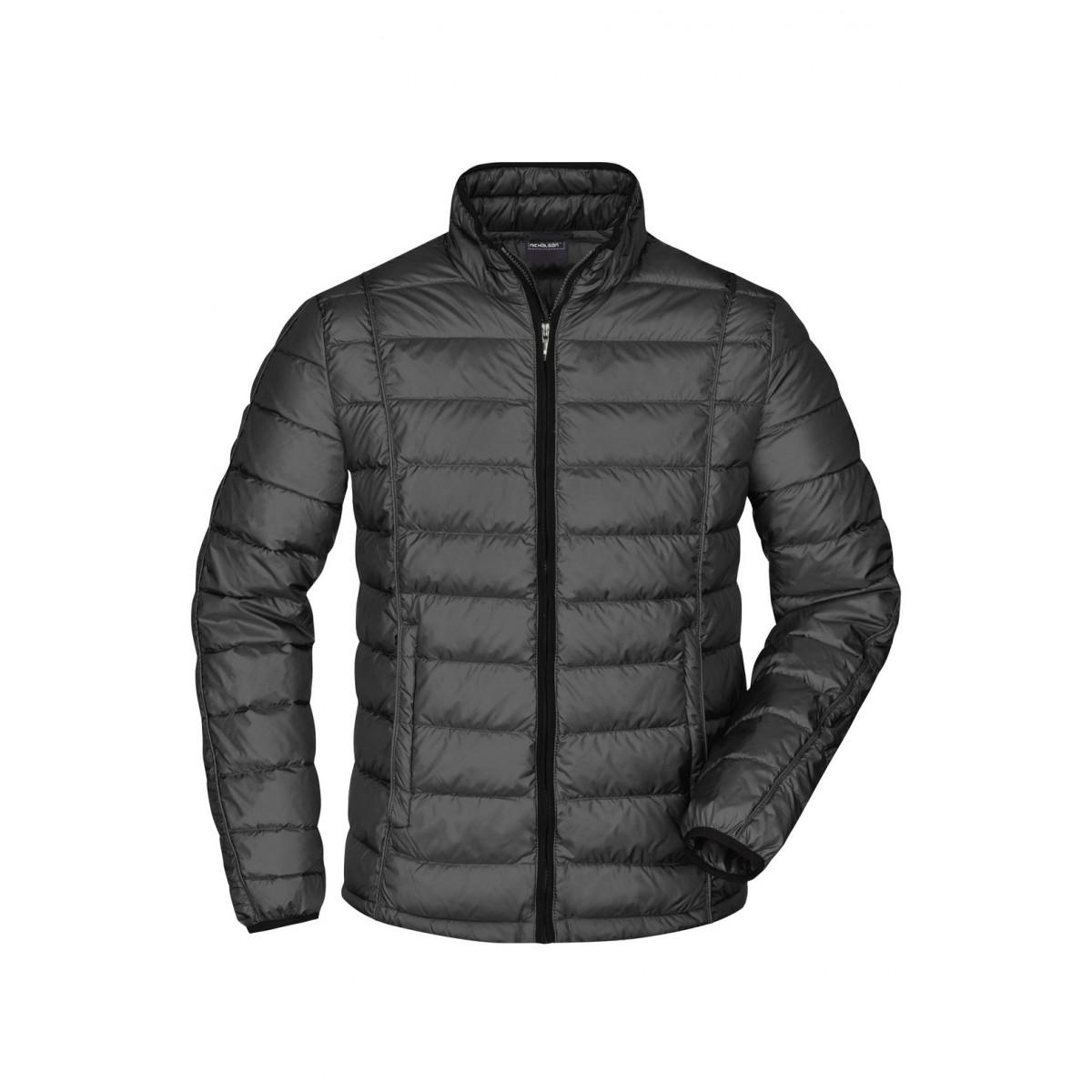 Куртка мужская JN1082 Mens Quilted Down Jacket - Черный/Черный