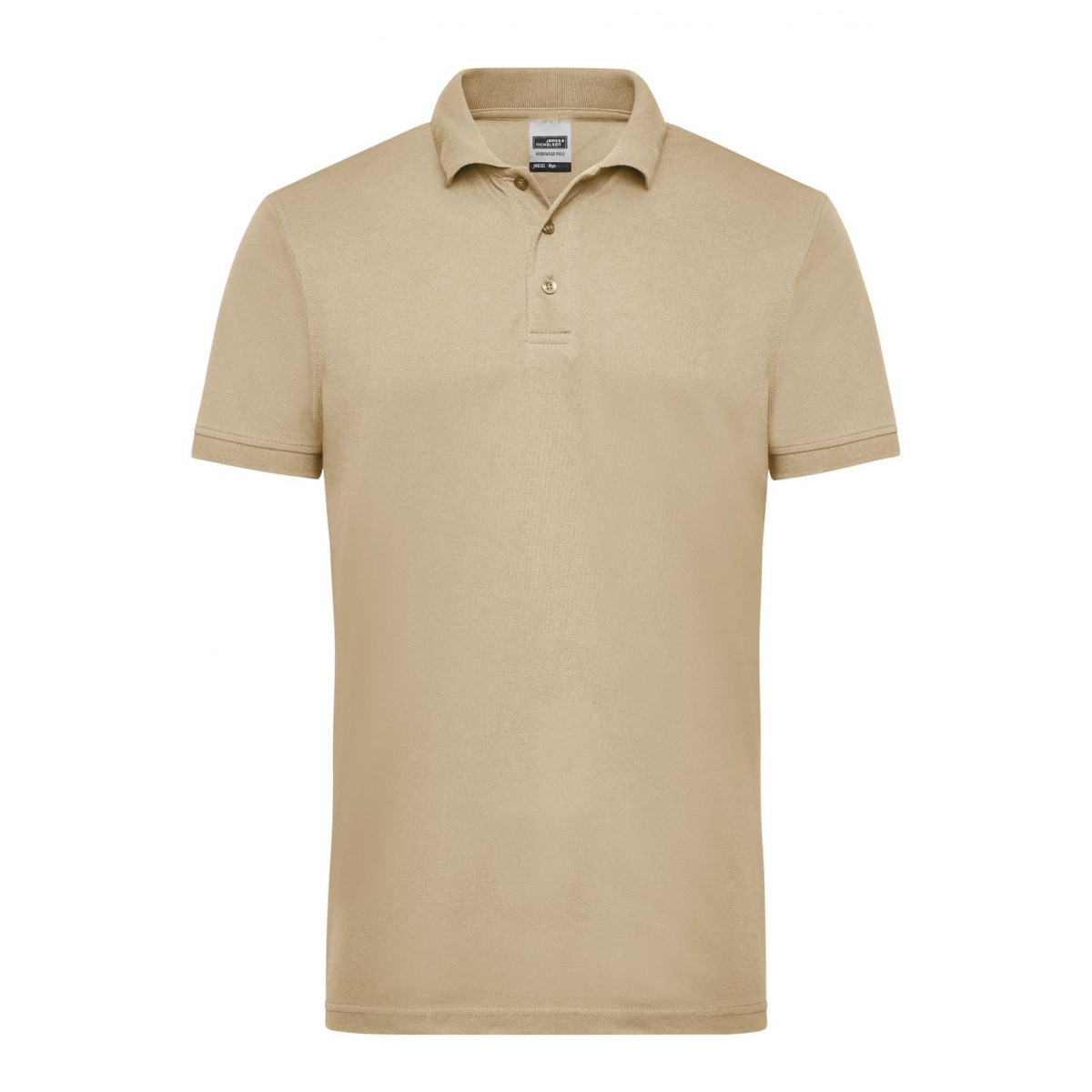 Рубашка поло мужская JN830 Mens Workwear Polo - Бежевый