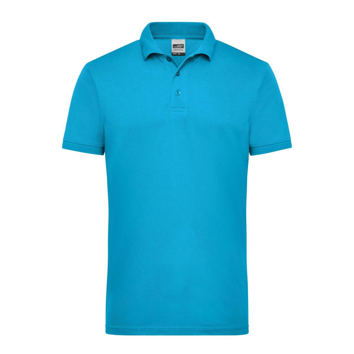 Рубашка поло мужская JN830 Mens Workwear Polo - Бирюзовый