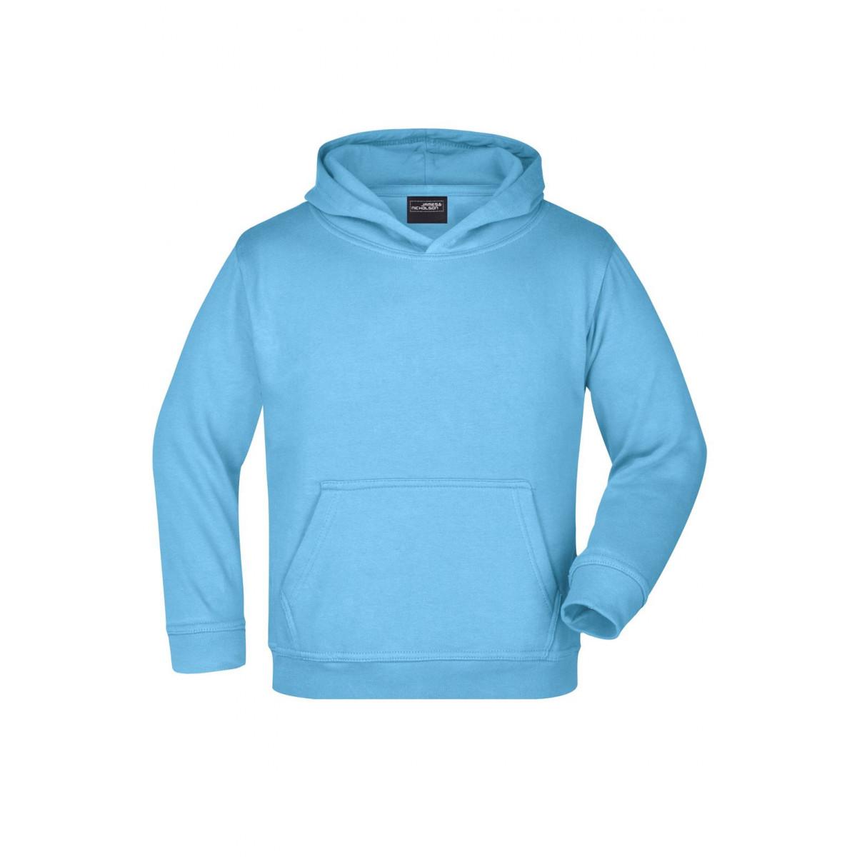 Толстовка детская JN047K Hooded Sweat Junior - Небесно-голубой