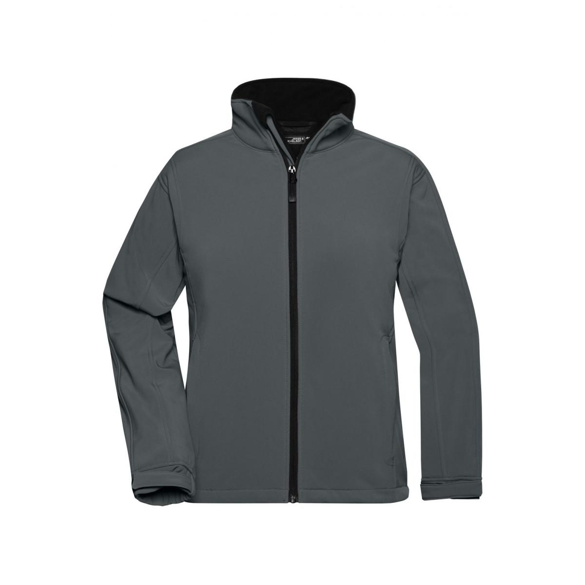 Куртка женская JN137 Ladies Softshell Jacket - Карбон