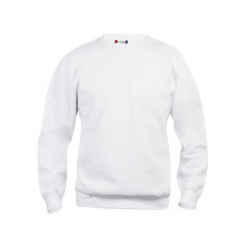 Толстовка унисекс 021030 Basic Roundneck - Белый