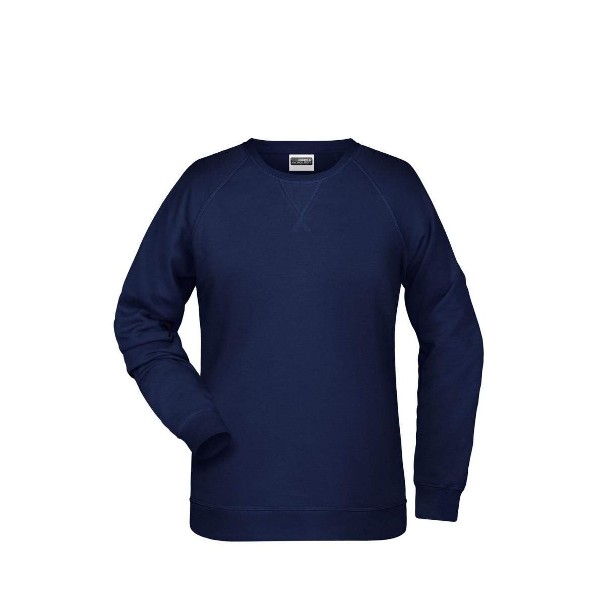 Толстовка женская 8021 Ladies Sweat - Темно-синий