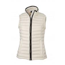 Жилет женский JN1079 Ladies' Quilted Down Vest - Белый/Черный