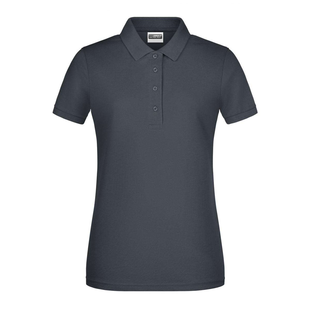 Рубашка поло женская 8009 Ladies Basic Polo - Угольный
