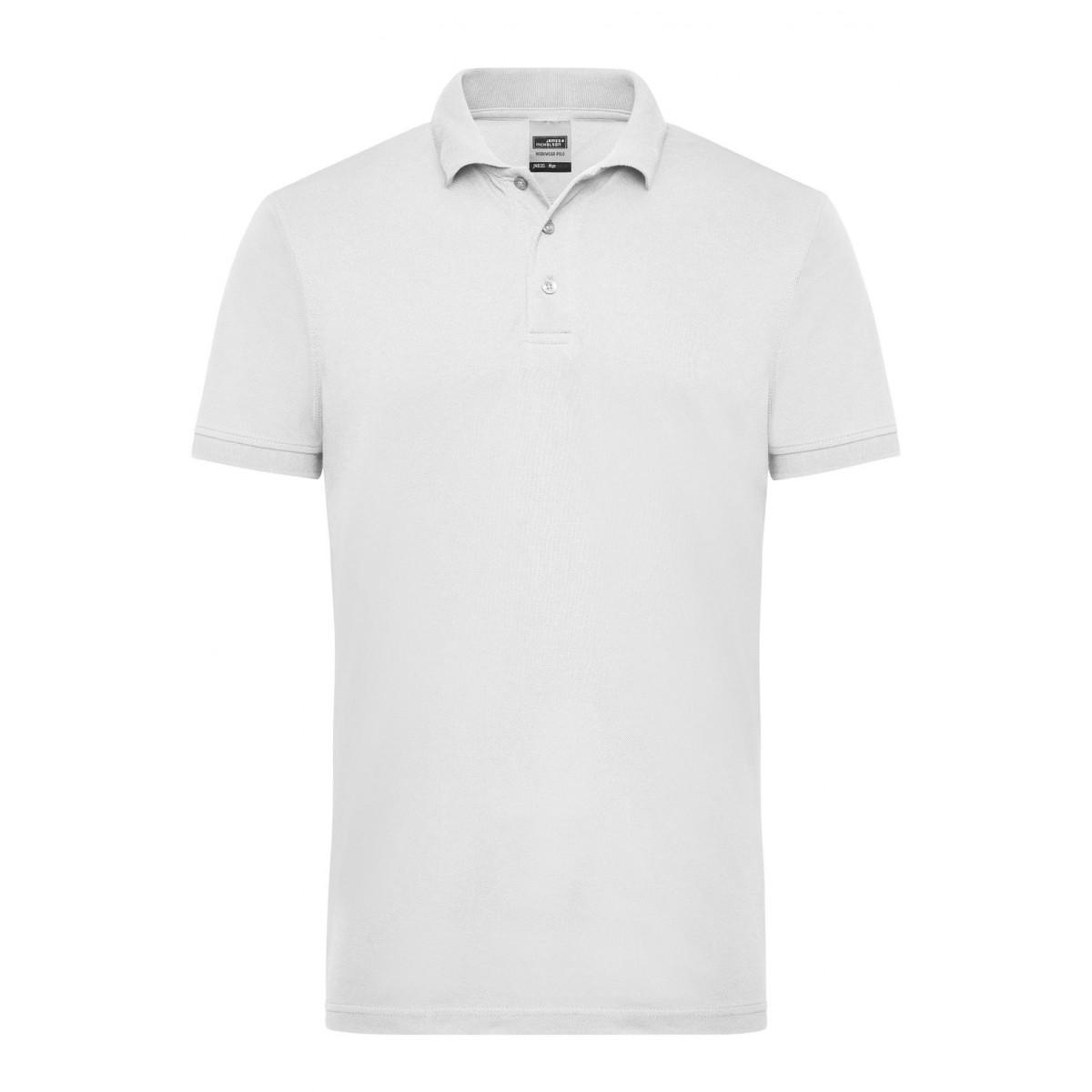 Рубашка поло мужская JN830 Mens Workwear Polo - Белый