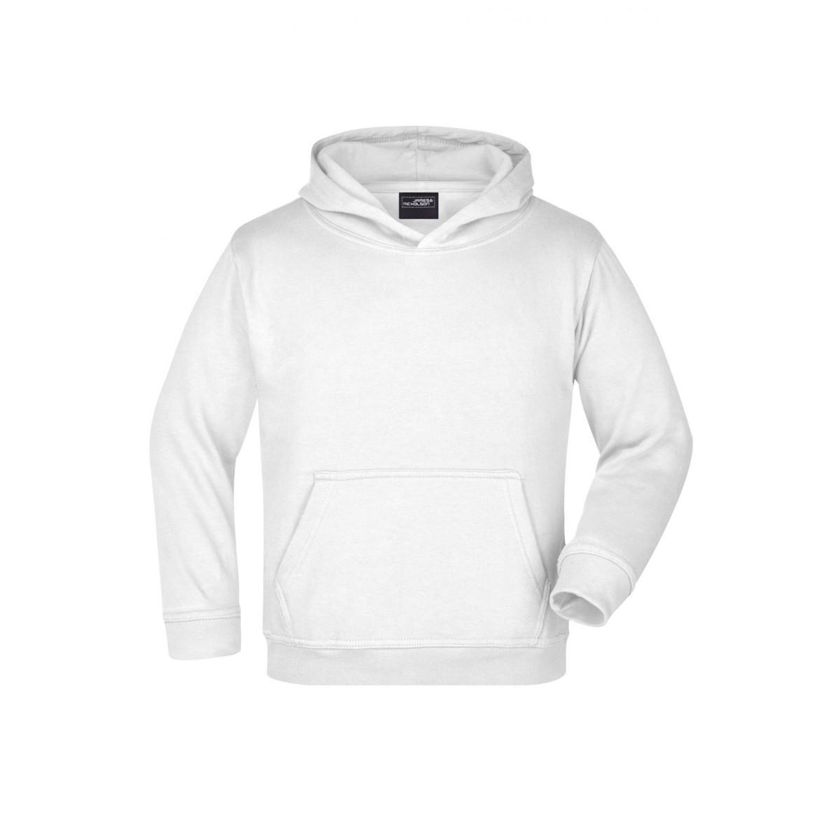 Толстовка детская JN047K Hooded Sweat Junior - Белый