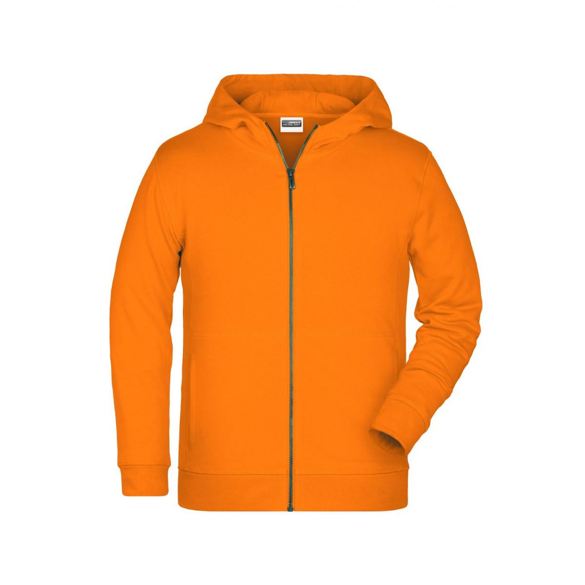 Толстовка детская 8026K Childrens Zip Hoody - Оранжевый
