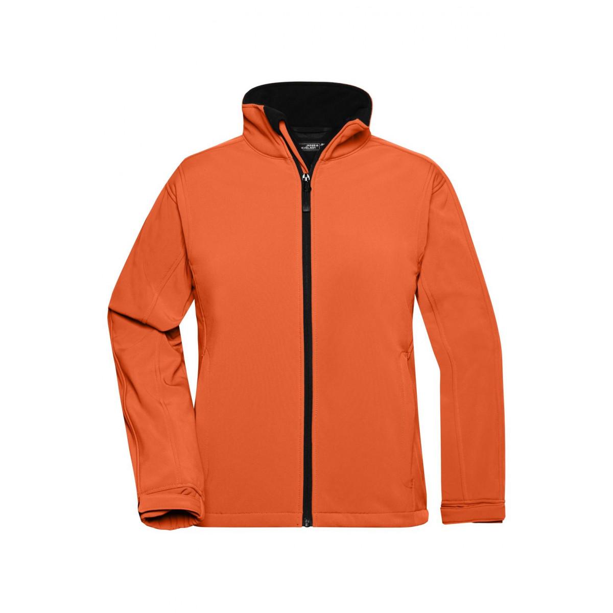 Куртка женская JN137 Ladies Softshell Jacket - Оранжевый