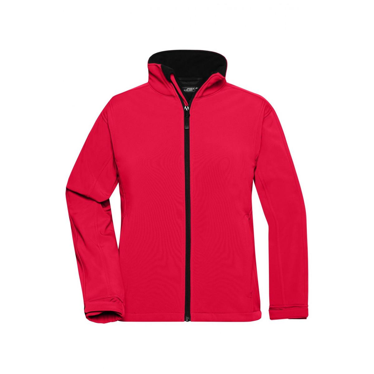 Куртка женская JN137 Ladies Softshell Jacket - Красный