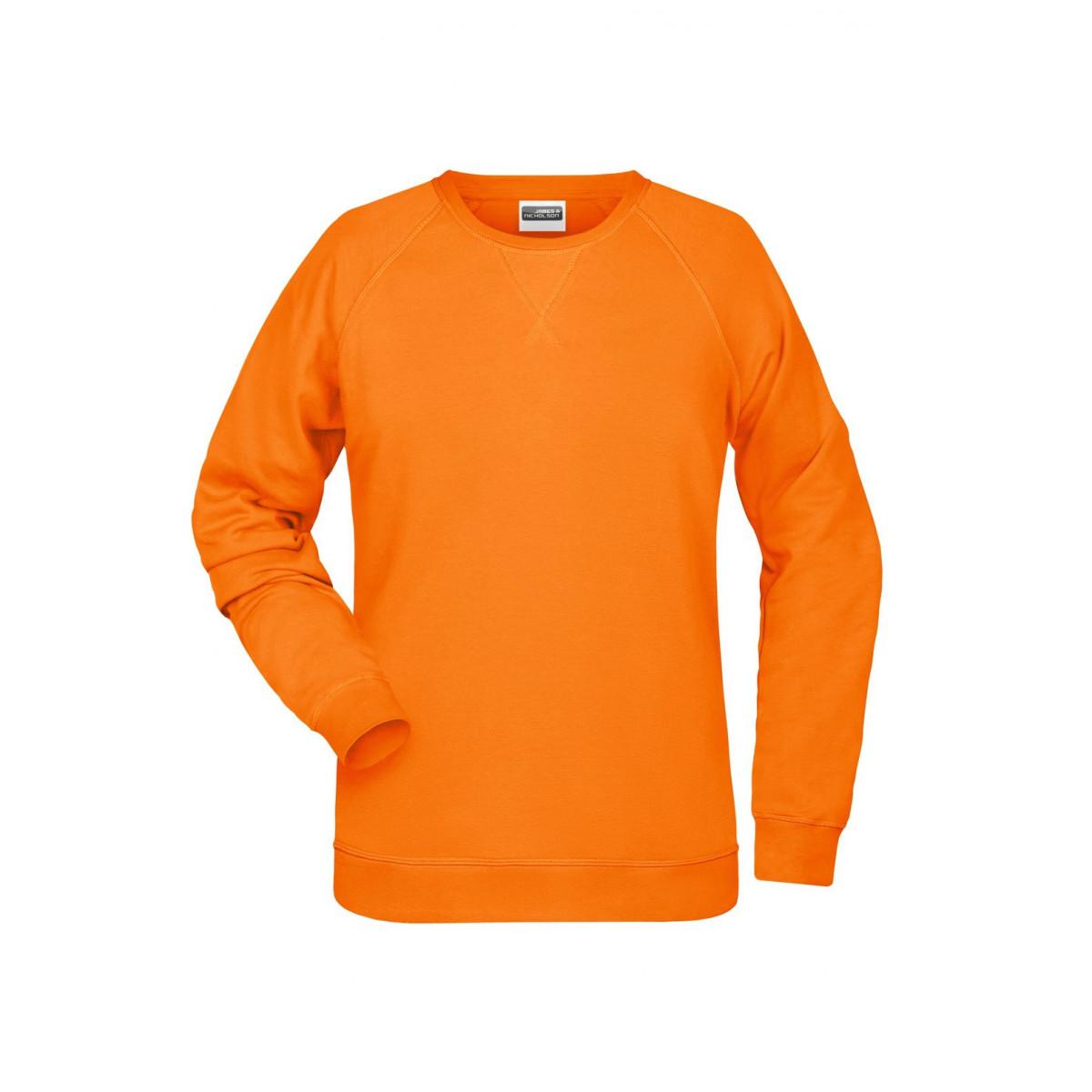 Толстовка женская 8021 Ladies Sweat - Оранжевый