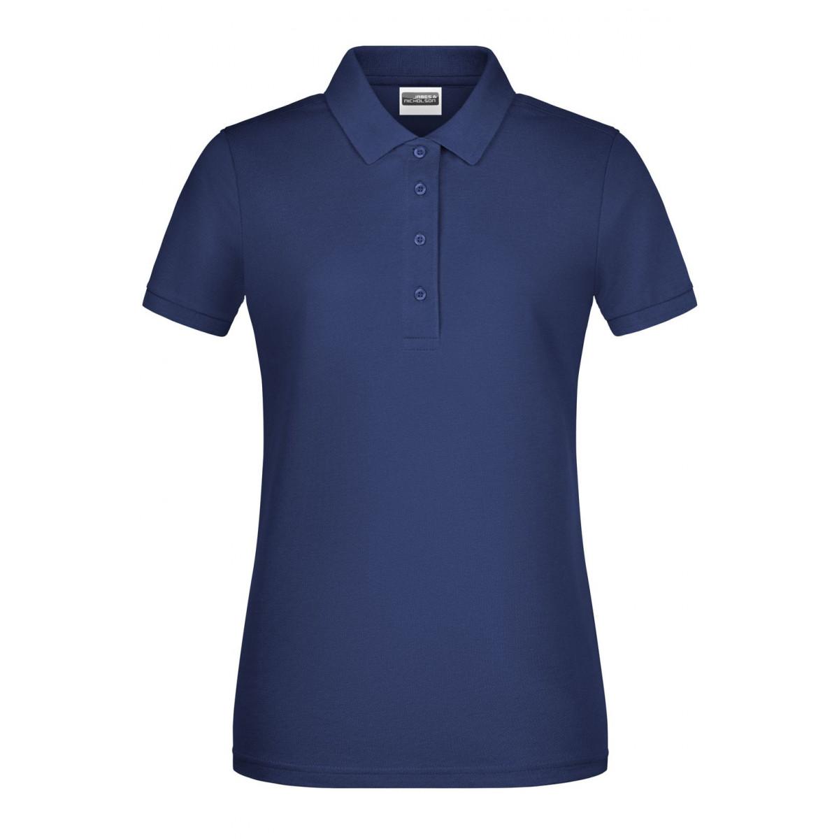 Рубашка поло женская 8009 Ladies Basic Polo - Темно-синий