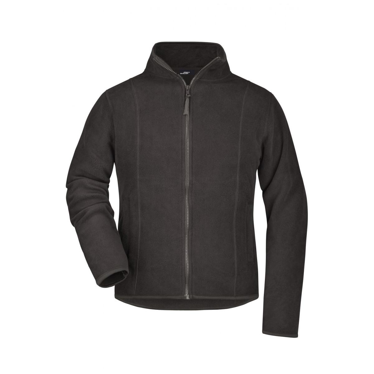 Толстовка женская JN049 Girly Microfleece Jacket - Темно-серый