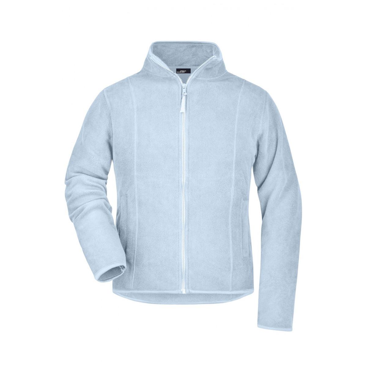 Толстовка женская JN049 Girly Microfleece Jacket - Светло-голубой
