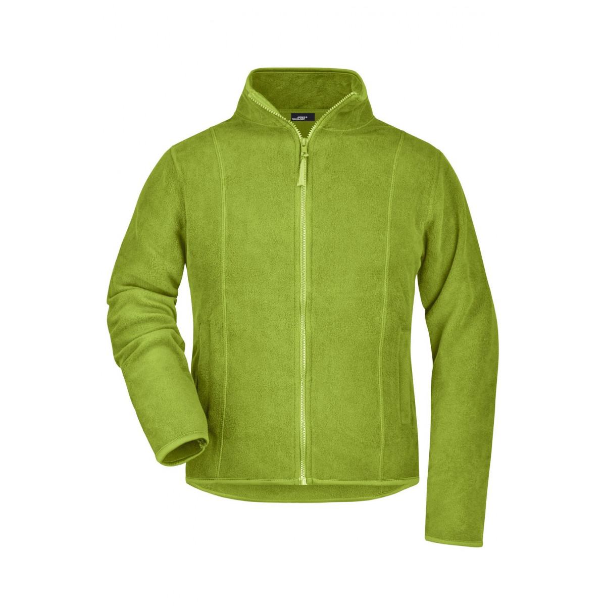 Толстовка женская JN049 Girly Microfleece Jacket - Лайм