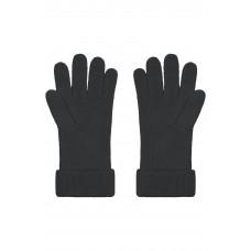 Перчатки MB7133 Fine Knitted Gloves - Черный