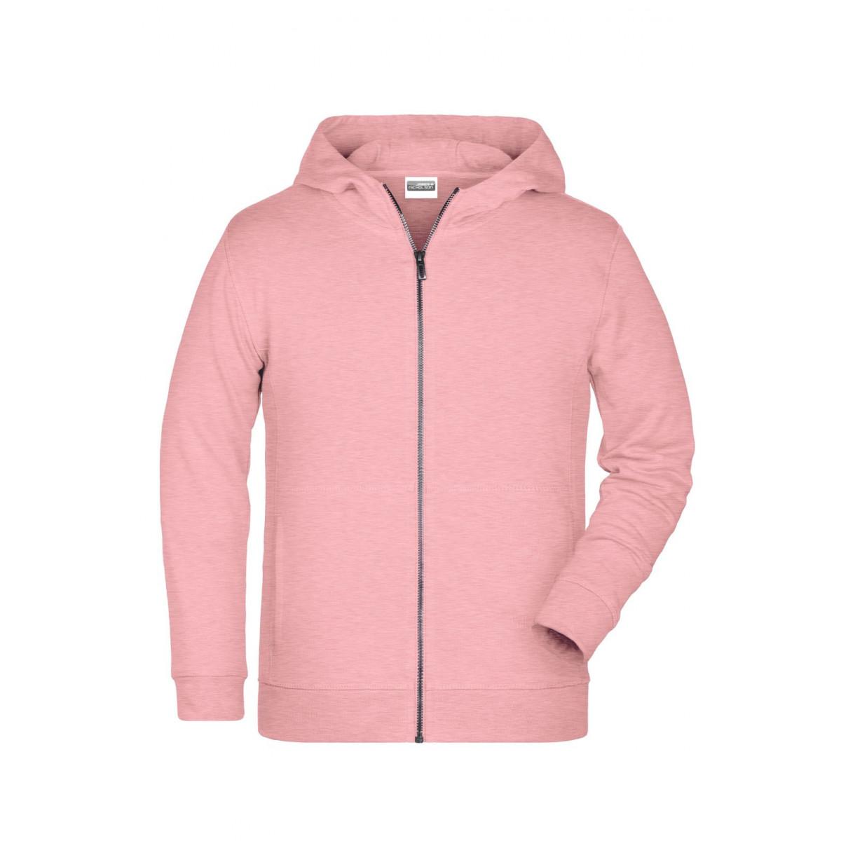 Толстовка детская 8026K Childrens Zip Hoody - Нежно-розовый