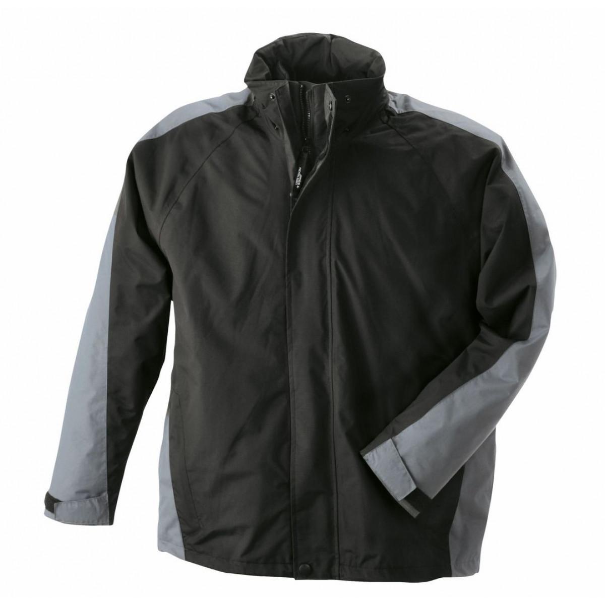 Куртка мужская JN170 Two-In-One Jacket - Черный/Темно-серый