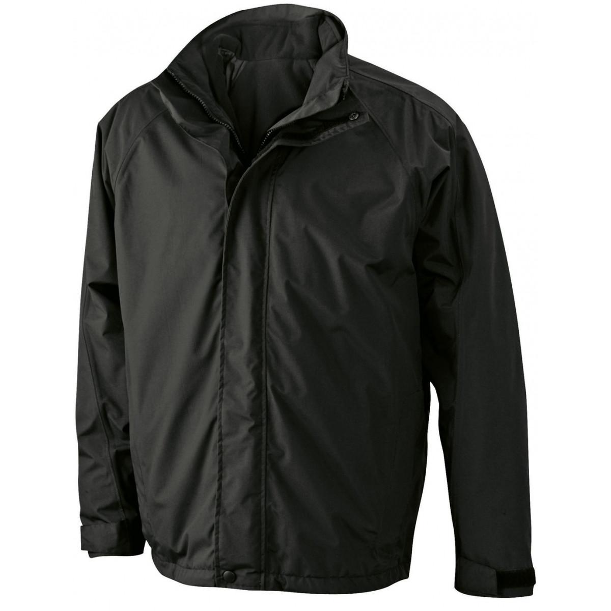 Куртка мужская JN170 Two-In-One Jacket - Черный/Черный