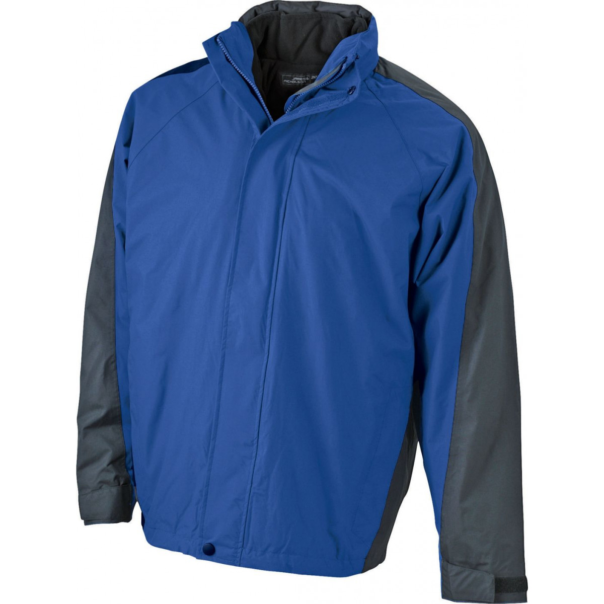 Куртка мужская JN170 Two-In-One Jacket - Ярко-синий/Черный