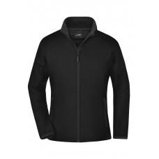 Куртка женская JN1129 Ladies' Promo Softshell Jacket - Черный/Черный