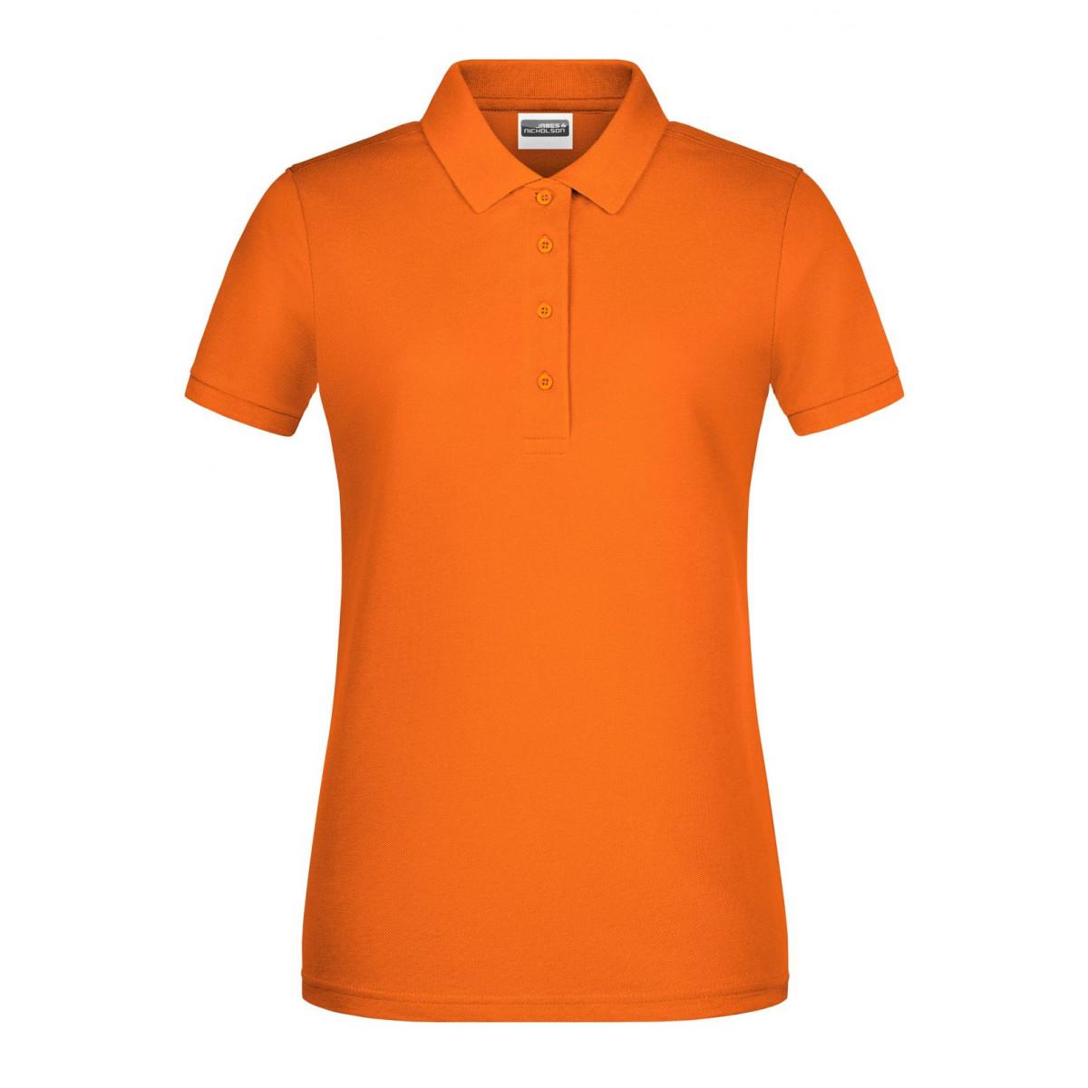 Рубашка поло женская 8009 Ladies Basic Polo - Оранжевый