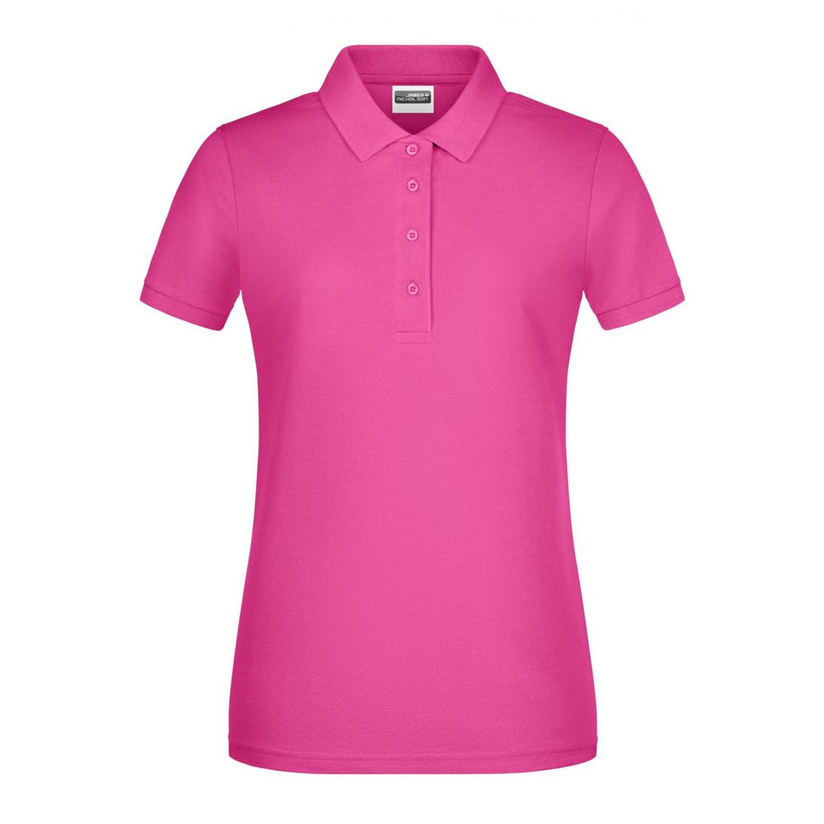 Рубашка поло женская 8009 Ladies Basic Polo - Розовый