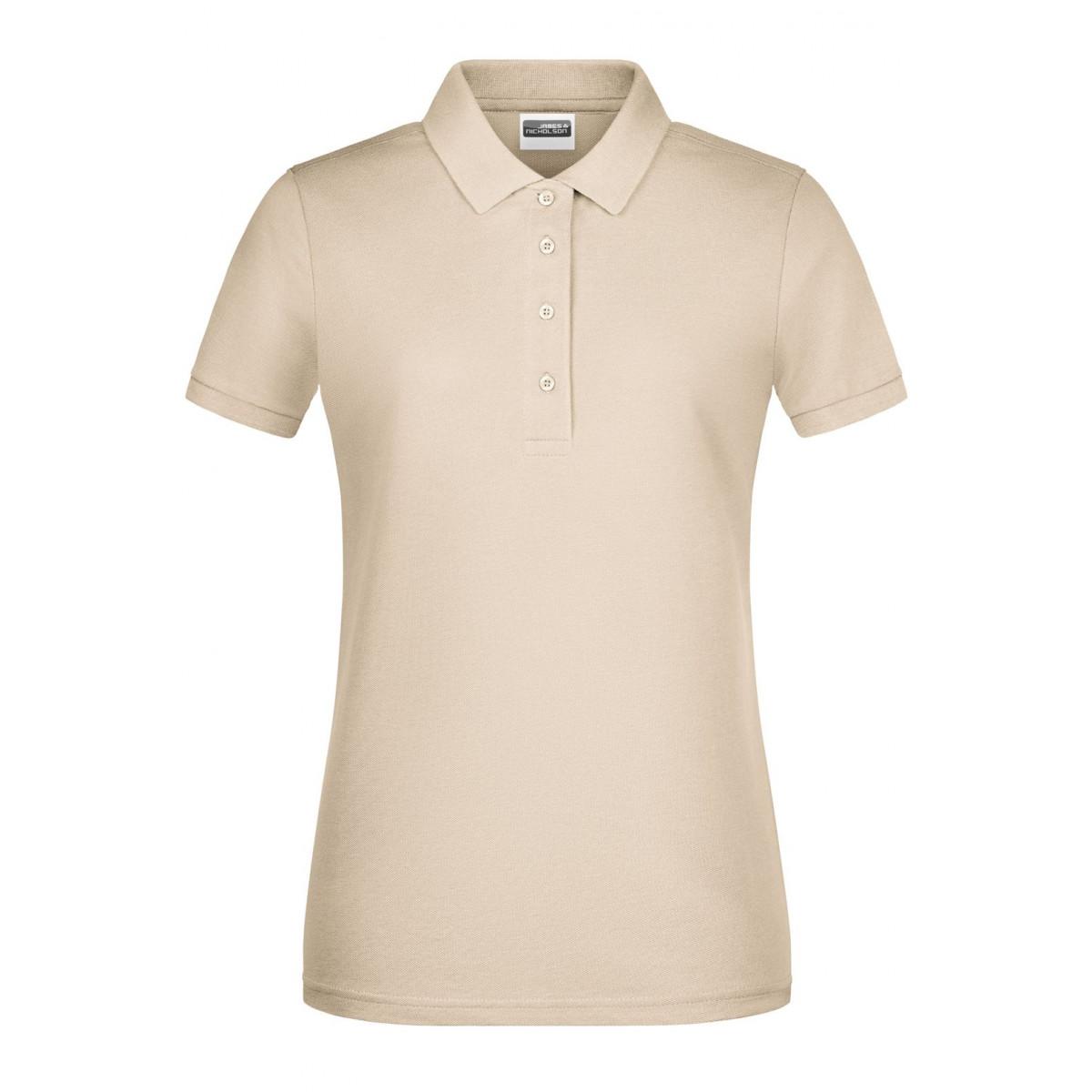 Рубашка поло женская 8009 Ladies Basic Polo - Бежевый