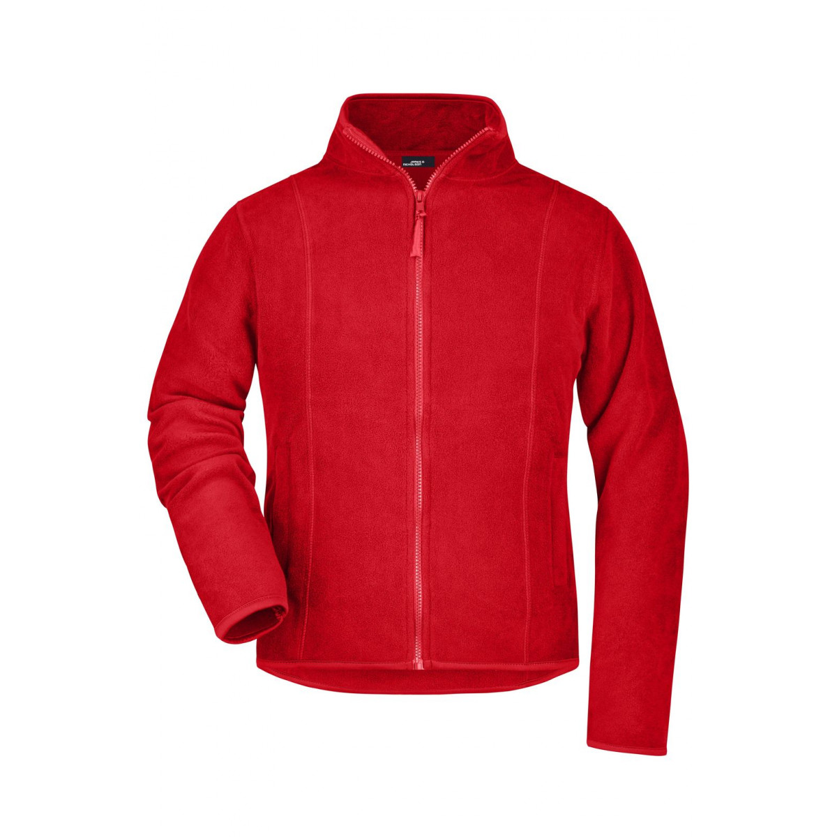 Толстовка женская JN049 Girly Microfleece Jacket - Красный