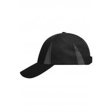 Бейсболка MB6225 Safety Cap - Черный