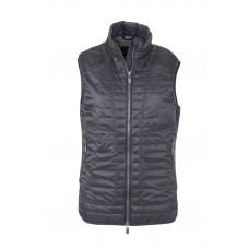 Жилет женский JN1109 Ladies' Lightweight Vest - Черный/Серебряный