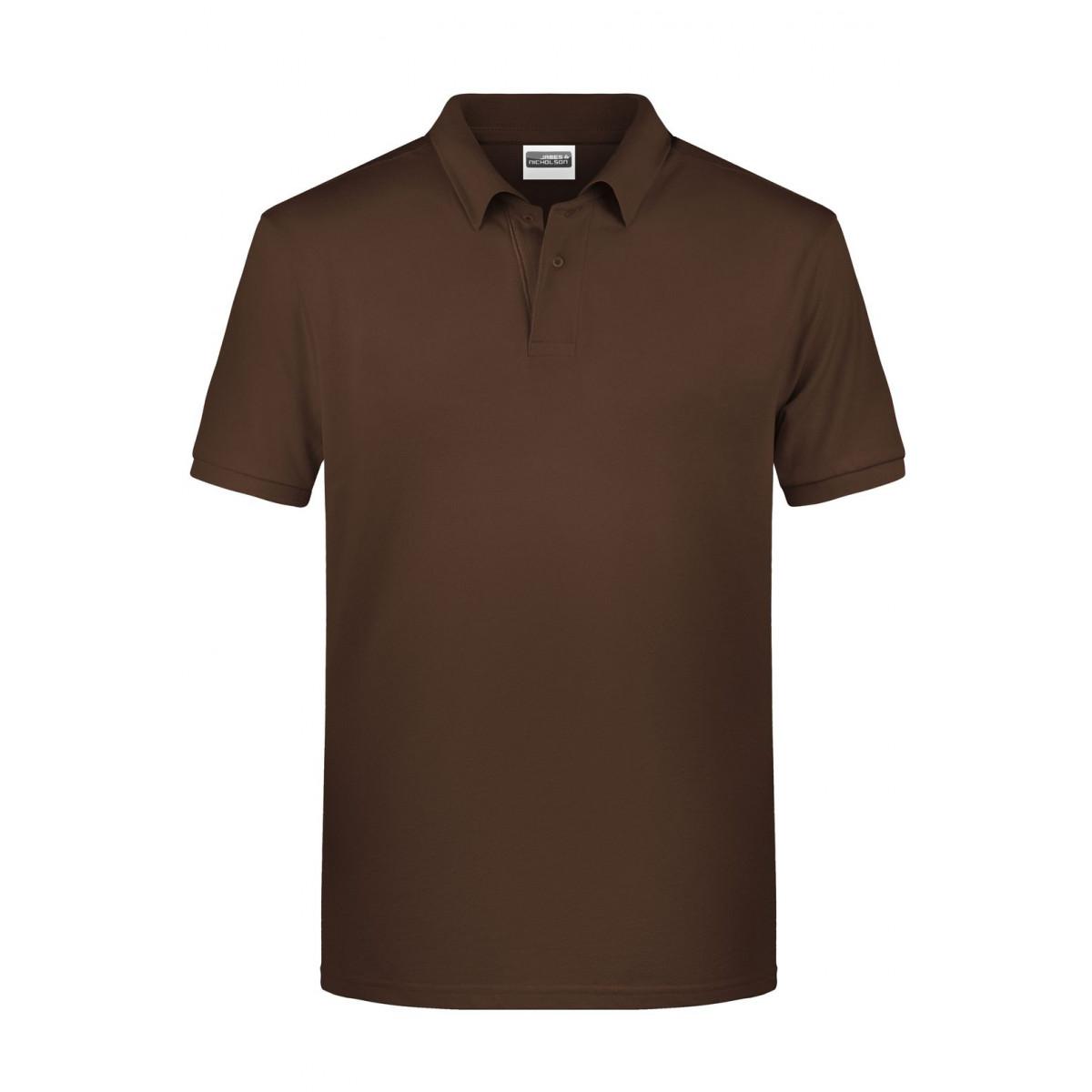 Рубашка поло мужская 8010 Mens Basic Polo - Коричневый