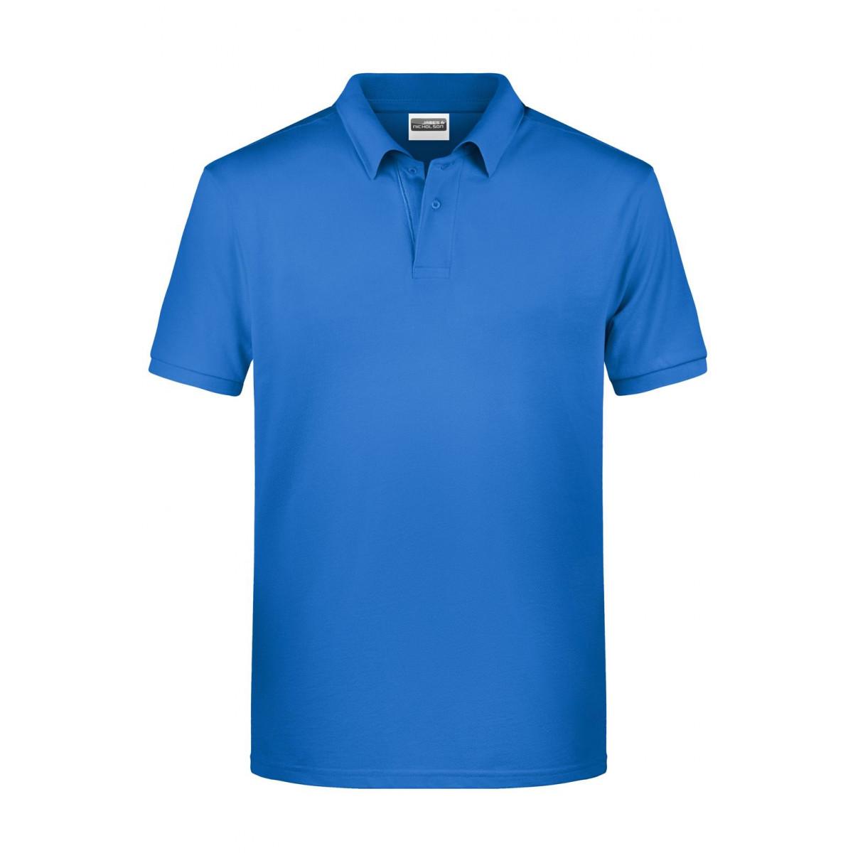 Рубашка поло мужская 8010 Mens Basic Polo - Кобальт