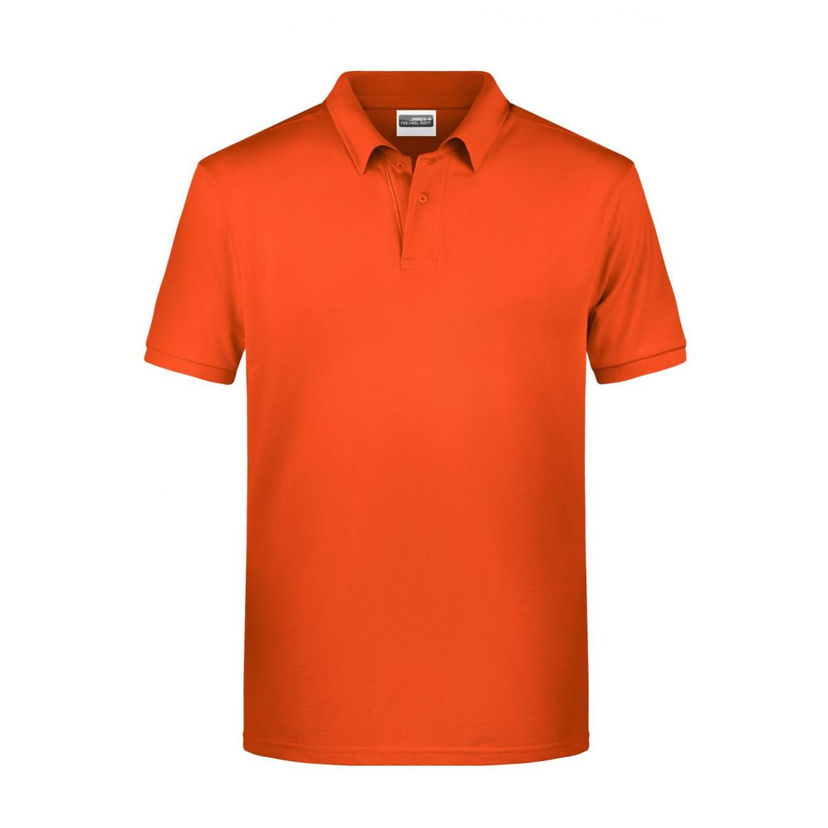 Рубашка поло мужская 8010 Mens Basic Polo - Темно-оранжевый